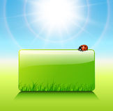 Sunny background Royalty Free Stock Image