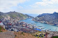Sunny Balaclava in summer.Crimea Stock Photography