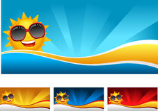 Sunny banner Royalty Free Stock Photo