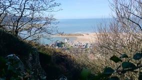 Sunny  Barmouth Bay Stock Photos
