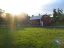 Sunny Barn Stock Image