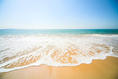 Sunny beach Royalty Free Stock Photography