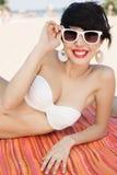 Sunny beach Royalty Free Stock Photo