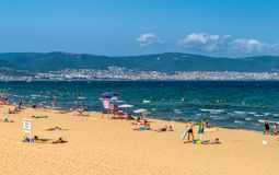 Free SUNNY BEACH, BULGARIA - 2 SEP 2018: Sunny Beach Resort On Bulgaria S Black Sea Coast Known For Its Water Sports, Sand Dunes, And Royalty Free Stock Image - 144289666