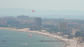 Sunny Beach, Bulgaria stock footage