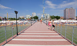 Sunny beach, Bulgaria Stock Images