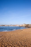 Sunny Beach in Cascais in Portugal Stock Photo