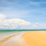 Sunny Beach Royalty Free Stock Photos