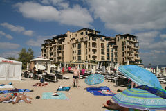 Sunny Beach resort, Bulgaria Stock Photos