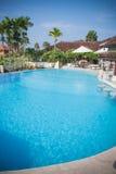 Sunny beautiful Bali pool Royalty Free Stock Photo