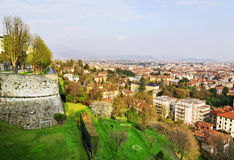 Sunny Bergamo. Royalty Free Stock Images