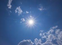 Sunny Blue Sky Fotografia de Stock Royalty Free