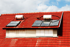 Sunny boiler Stock Image