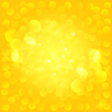 Sunny bokeh. Vector background EPS 10. Royalty Free Stock Photo