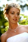 Sunny Bride Stock Image