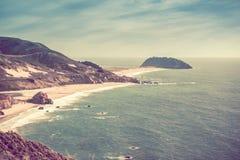 Sunny California Coast Photos stock