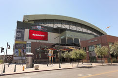 A Sunny Chase Field, downtown Phoenix, Arizona Royalty Free Stock Photography