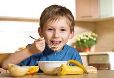 Sunny cheerful breakfast Royalty Free Stock Image