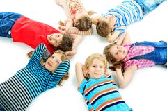 Sunny children Stock Photos