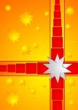 Sunny christmas box Stock Image
