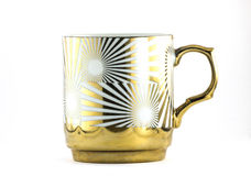 Sunny Coffee Cup Fotografie Stock