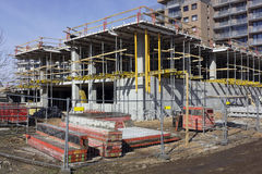 Sunny  construction day Royalty Free Stock Image