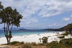 Sunny corsican beach Stock Image