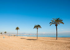 Sunny Costa Blanca Royalty Free Stock Image