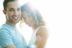 Sunny couple Royalty Free Stock Image