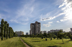 Sunny day. In Moscow Royalty Free Stock Photography