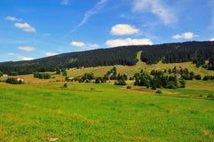 Sunny day at the Alps Royalty Free Stock Photos