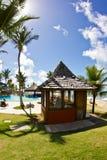 Sunny day at the Arraial d'Ajuda Eco Resort in Bahia royalty free stock photos