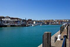 Free Sunny Day At Weymouth Harbour Stock Images - 184324164