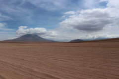 Sunny Day At The Atacama-Wüste Bolivien Lizenzfreies Stockbild