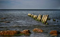 A sunny day in the Baltic Sea Stock Photography
