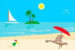 Sunny Day, Beach Stock Photos