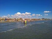 Sunny day at the beach Stock Photo