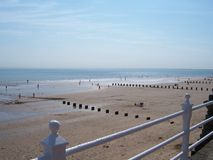 Sunny Day In Bridlington Photos libres de droits