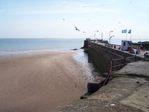 Sunny Day In Bridlington Photo stock