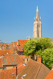 Sunny day in Bruges Royalty Free Stock Images