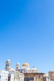 Sunny day in Cadiz - Spain Royalty Free Stock Photos