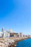 Sunny day in Cadiz - Spain Stock Photos