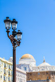 Sunny day in Cadiz - Spain Stock Photography