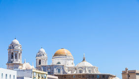 Sunny day in Cadiz - Spain Royalty Free Stock Image