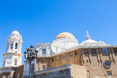 Sunny day in Cadiz - Spain Royalty Free Stock Photography