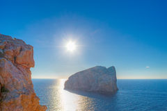 Sunny day in Capo Caccia Royalty Free Stock Photo