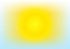 Sunny day, clear, weather Royalty Free Stock Photo