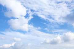 Sunny day cloudscape Royalty Free Stock Photo