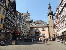 A Sunny Day in Cochem Germany Royalty Free Stock Photography
