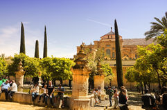 Sunny day in Cordoba Royalty Free Stock Photos